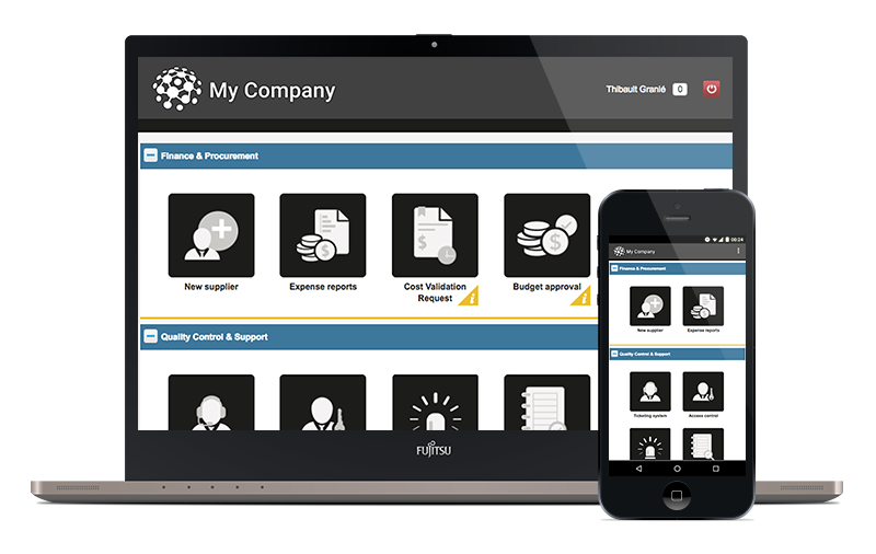 RunMyProcess - Cross-platform mobile apps that are integrated from end-to-end for Enterprise Mobility